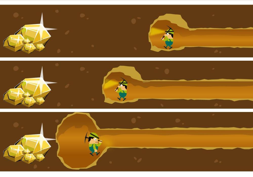 gold-miner-vector
